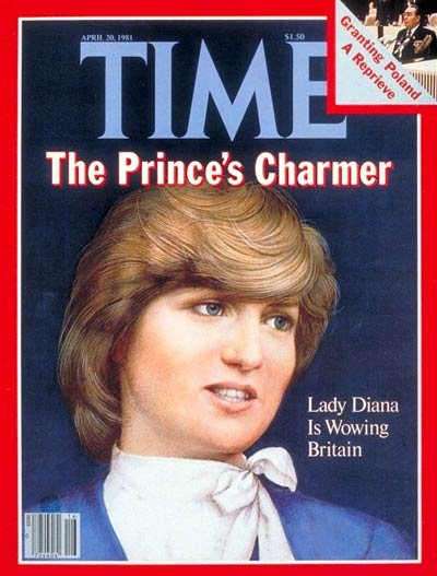 TIME Magazine Cover: Diana Spencer -- Apr. 20, 1981