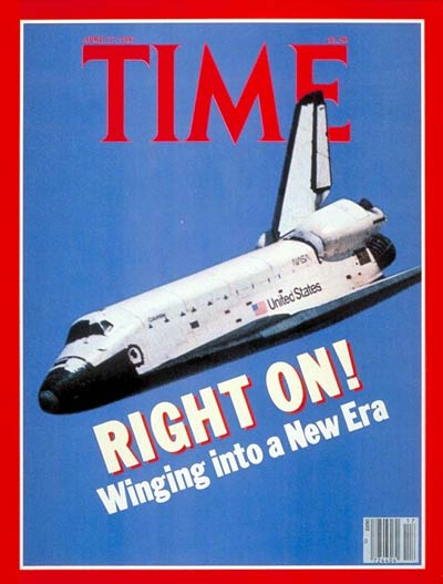 Space Shuttle Columbia's First Flight