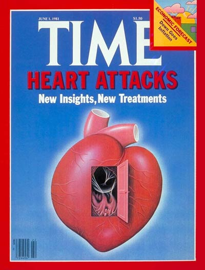 TIME Magazine Cover: Heart Attacks -- June 1, 1981
