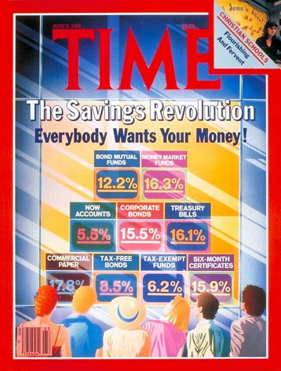 TIME Magazine Cover: Savings Plans -- June 8, 1981