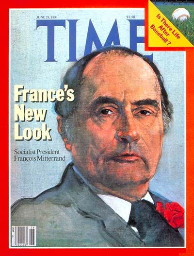 TIME Magazine Cover: Francois Mitterand -- June 29, 1981