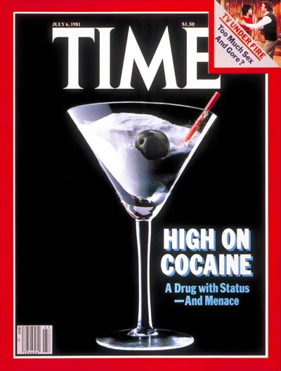 TIME Magazine Cover: Cocaine -- July 6, 1981