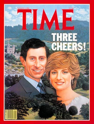 TIME Magazine Cover: Prince Charles and Princess Diana -- Aug. 3, 1981