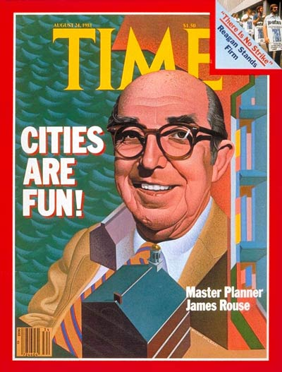 TIME Magazine Cover: James Rouse -- Aug. 24, 1981