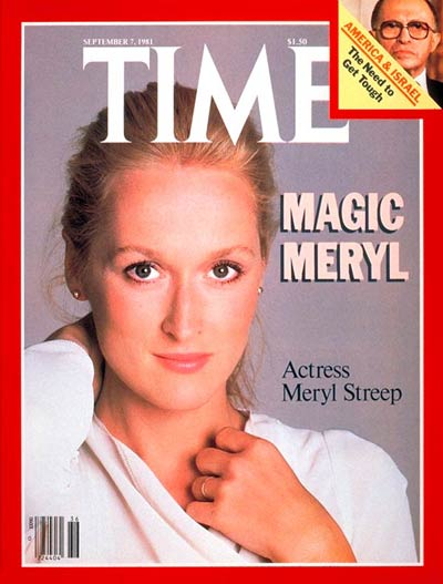 TIME Magazine Cover: Meryl Streep -- Sep. 7, 1981