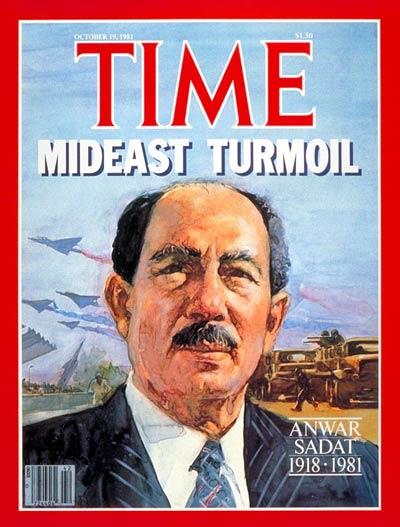 TIME Magazine Cover: Anwar Sadat -- Oct. 19, 1981
