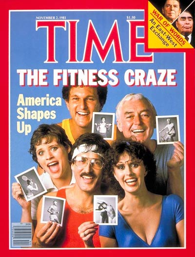 TIME Magazine Cover: The Fitness Craze -- Nov. 2, 1981
