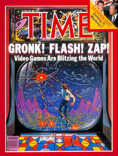 TIME Magazine Cover: Video Games -- Jan. 18, 1982
