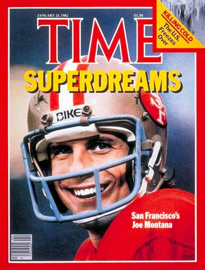 TIME Magazine Cover: Joe Montana -- Jan. 25, 1982