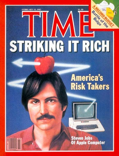 Steve Jobs of Apple Computer
