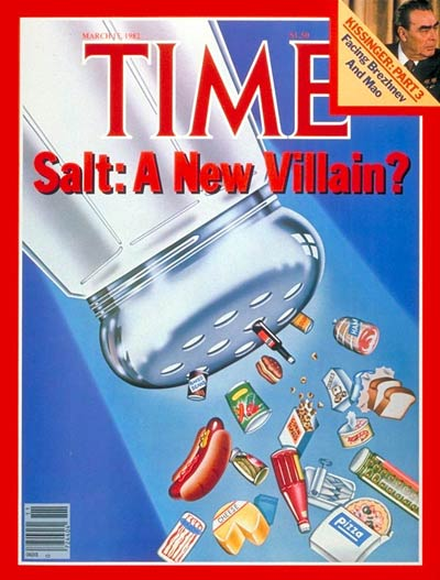 TIME Magazine Cover: Salt: A New Villain? -- Mar. 15, 1982