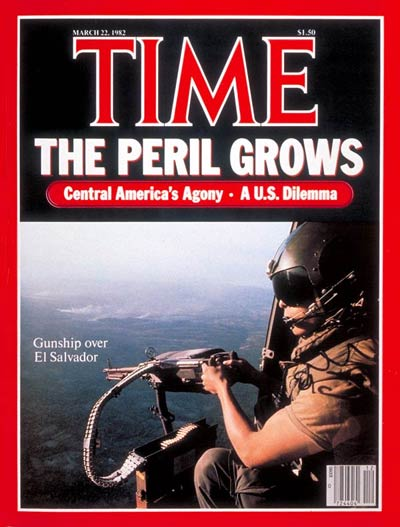 TIME Magazine Cover: Central America -- Mar. 22, 1982