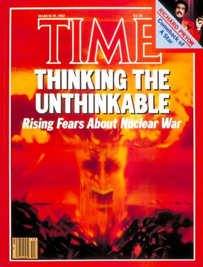 TIME Magazine Cover: Nuclear War -- Mar. 29, 1982
