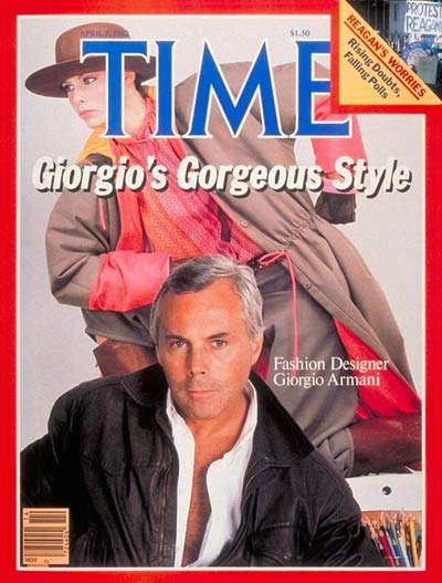 TIME Magazine Cover: Giorgio Armani