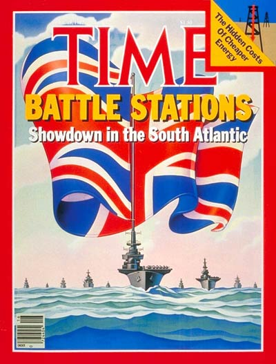 TIME Magazine Cover: Falklands Crisis -- Apr. 19, 1982