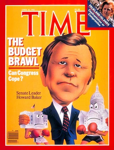 TIME Magazine Cover: Senator Howard Baker -- Apr. 26, 1982