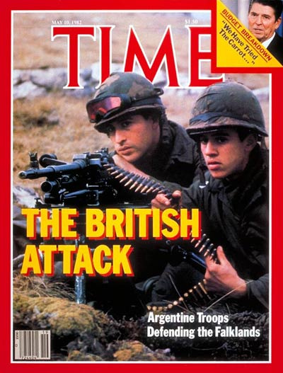 TIME Magazine Cover: Falklands War -- May 10, 1982