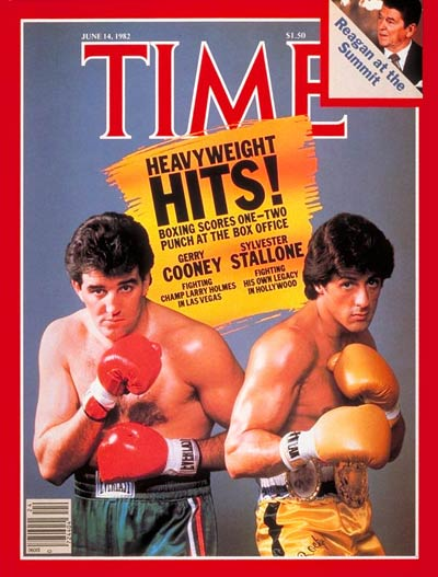 TIME Magazine Cover: Gerry Cooney, Sylvester Stallone -- June 14, 1982