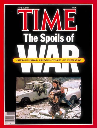 TIME Magazine Cover: Spoils of War -- June 28, 1982
