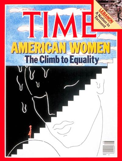 TIME Magazine Cover: American Women -- July 12, 1982