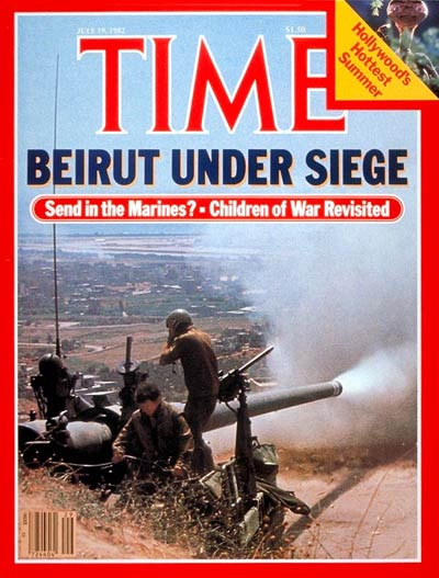 TIME Magazine Cover: Seige of Beirut -- July 19, 1982