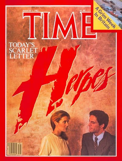 TIME Magazine Cover: Herpes -- Aug. 2, 1982