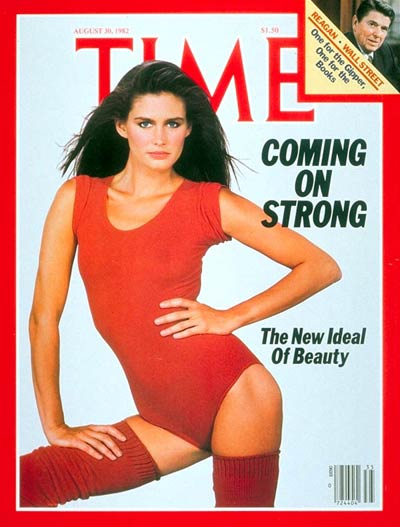 TIME Magazine Cover: Women and Fitness -- Aug. 30, 1982