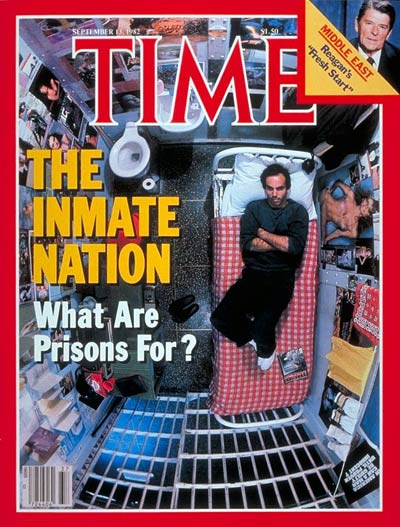 TIME Magazine Cover: The Inmate Nation -- Sep. 13, 1982