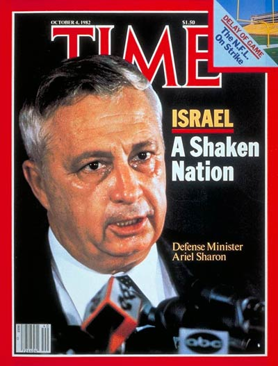 TIME Magazine Cover: Ariel Sharon -- Oct. 4, 1982
