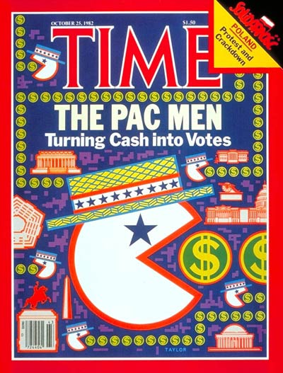 TIME Magazine Cover: Pac Men -- Oct. 25, 1982