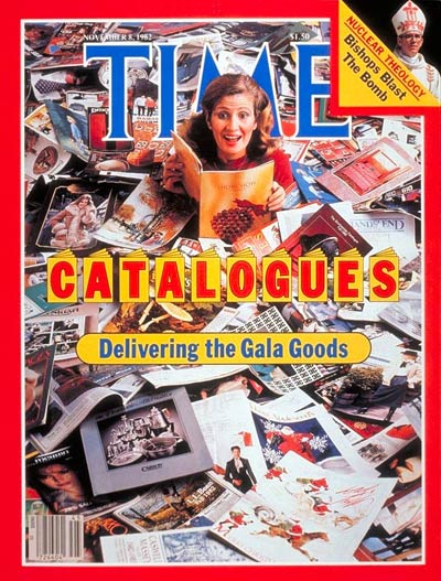 TIME Magazine Cover: Catalogues -- Nov. 8, 1982