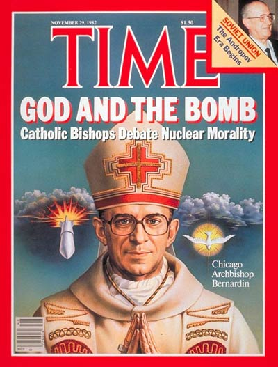 TIME Magazine Cover: Archbishop Bernadin -- Nov. 29, 1982
