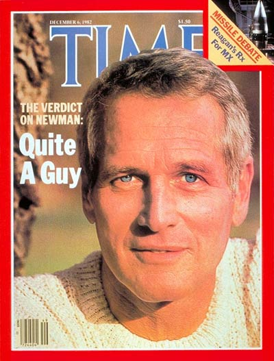 TIME Magazine Cover: Paul Newman -- Dec. 6, 1982