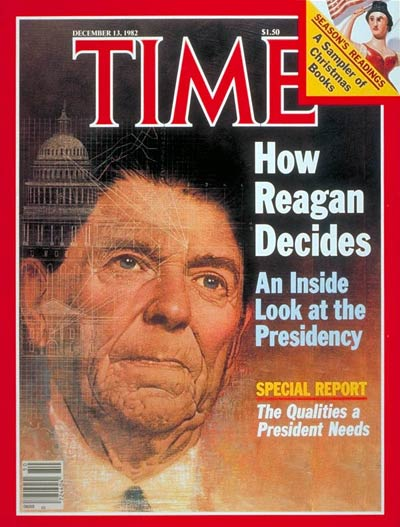 TIME Magazine Cover: Ronald Reagan -- Dec. 13, 1982