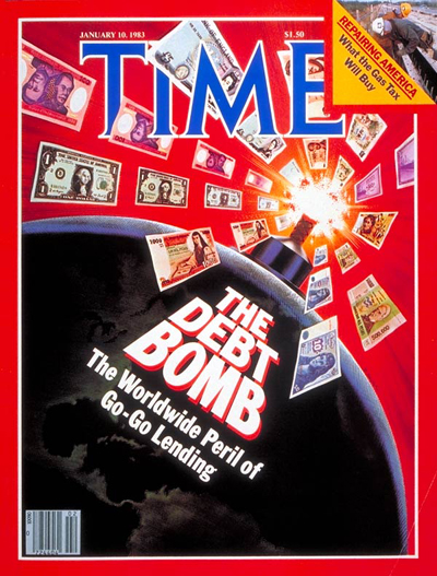 TIME Magazine Cover: The Peril of Lending -- Jan. 10, 1983