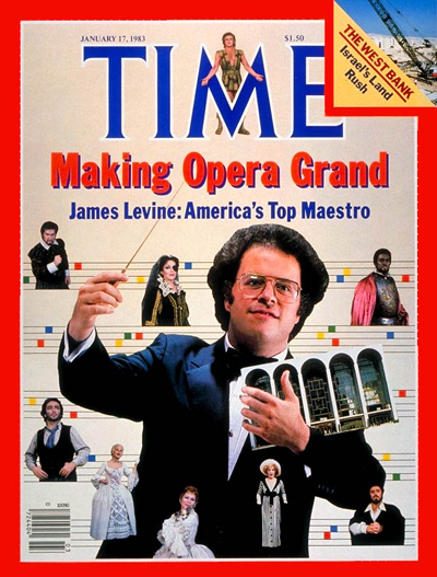 TIME Magazine Cover: James Levine -- Jan. 17, 1983