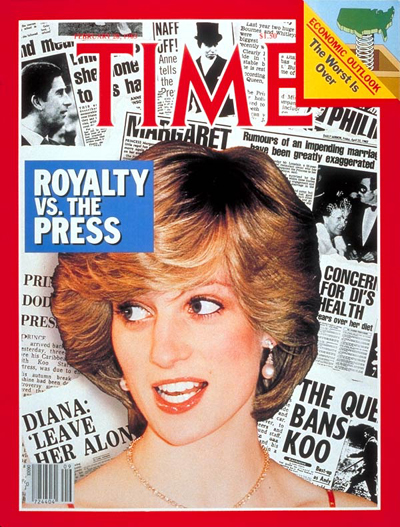 TIME Magazine Cover: Princess Diana -- Feb. 28, 1983