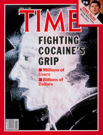 TIME Magazine Cover: Battling Cocaine -- Apr. 11, 1983