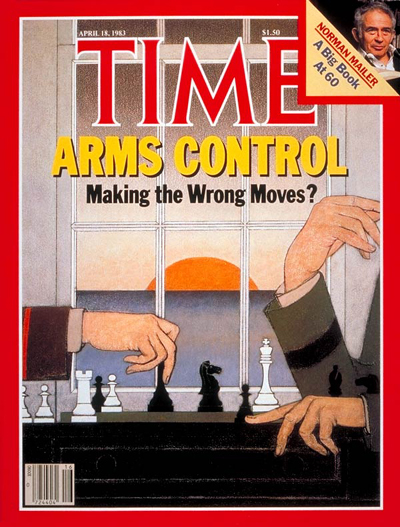 TIME Magazine Cover: Arms Control -- Apr. 18, 1983