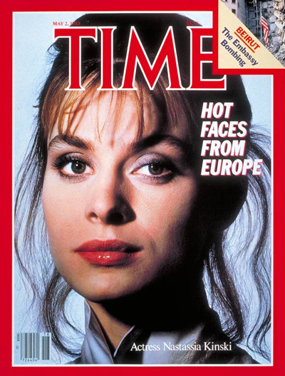 TIME Magazine Cover: Nastassia Kinski -- May 2, 1983