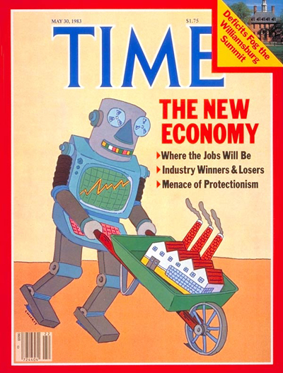 TIME Magazine Cover: The New Economy -- May 30, 1983
