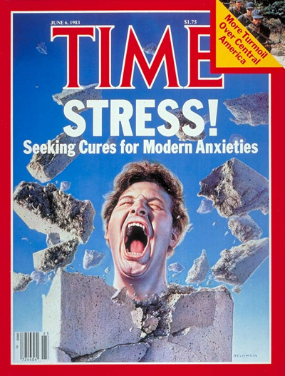 TIME Magazine Cover: Cures for Stress -- June 6, 1983