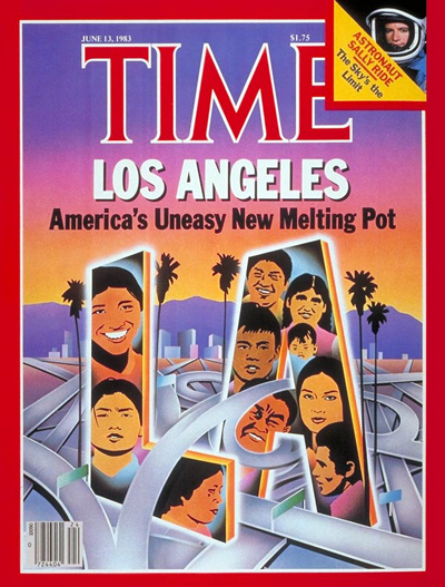 TIME Magazine Cover: Los Angeles -- June 13, 1983