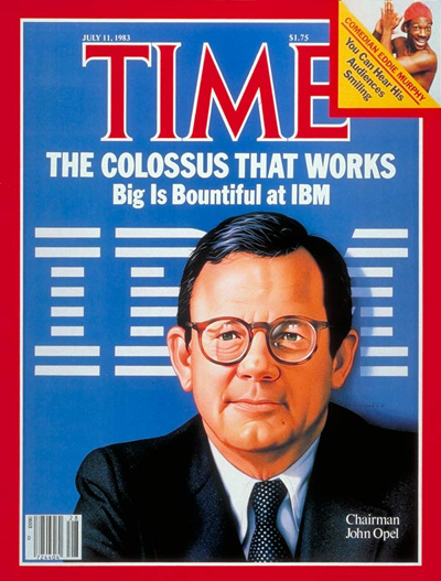 TIME Magazine Cover: IBM's John Opel -- July 11, 1983