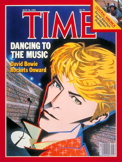 TIME Magazine Cover: David Bowie -- July 18, 1983