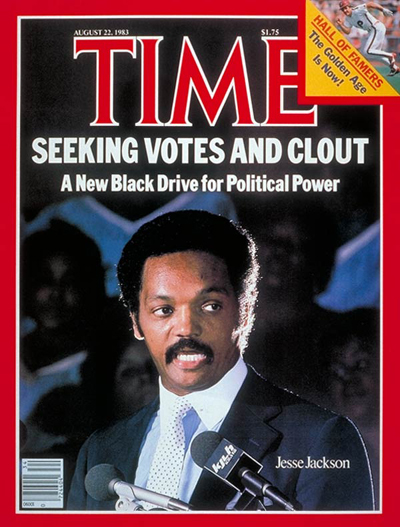 TIME Magazine Cover: Jesse Jackson -- Aug. 22, 1983