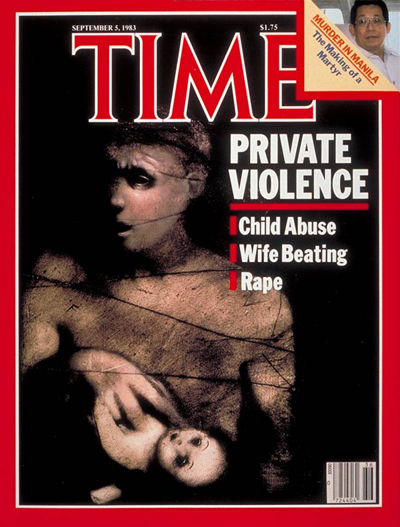 TIME Magazine Cover: Domestic Violence -- Sep. 5, 1983