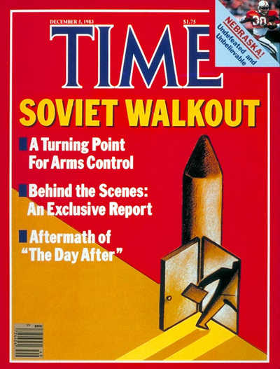 TIME Magazine Cover: Arms Control -- Dec. 5, 1983