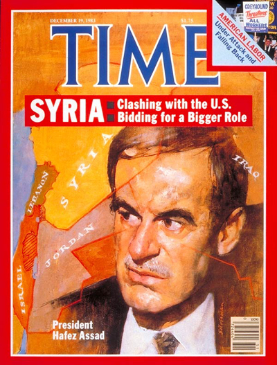 TIME Magazine Cover: Hafez Assad -- Dec. 19, 1983