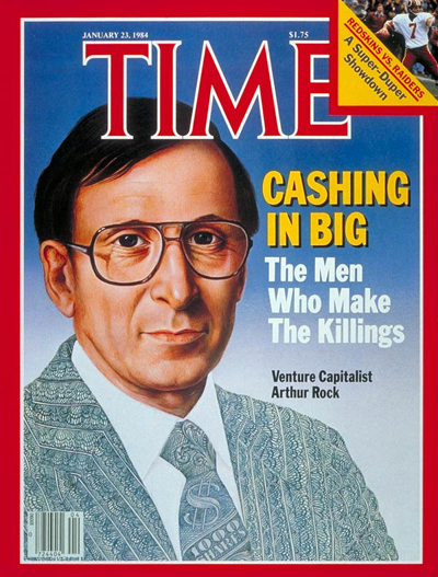 TIME Magazine Cover: Arthur Rock -- Jan. 23, 1984